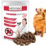 Medidog Original Zecken Snack 150g, Extra Kaltgepresst und Getreidefrei Zeckenschutz für Hunde, von Tierärzten empfohlen, Zeckenfrei in 14 Tagen mit Kokosöl und Schwarzkümmelöl