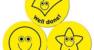 Aufkleber mit gelben Smileys und Zecken 38 mm 10 Boegen 310x165 - Aufkleber mit gelben Smileys und Zecken, 38 mm, 10 Bögen